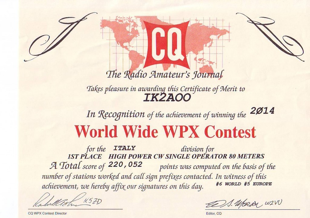 WPX 2014